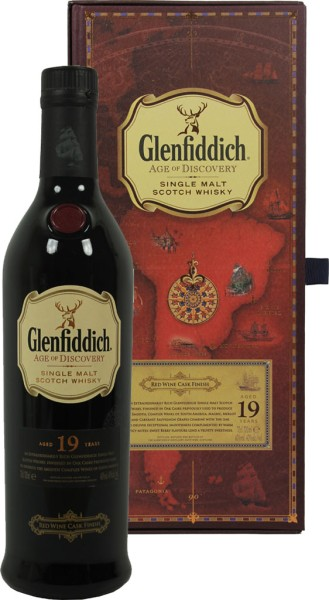 Glenfiddich Age of Discovery 19 yrs. Malt Whisky Red Wine