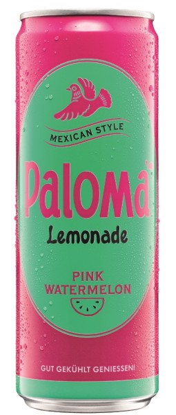 Paloma Pink Watermelon Lemonade 0,355l Dose
