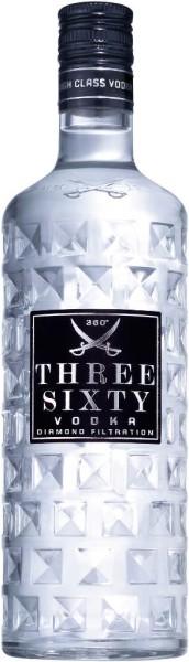 Three Sixty Wodka 0,5 Liter