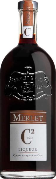 Merlet Liqueur C2 Cognac & Cafe 0,7l