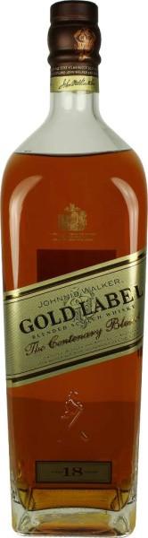 Johnnie Walker Whisky Gold Label 18 Jahre 1,75l