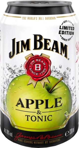 Jim Beam Apple & Tonic Dose 0,33l