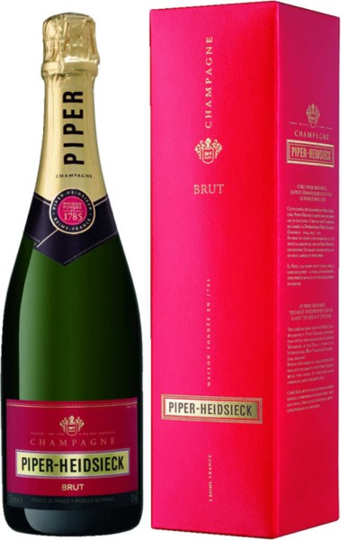 Piper Heidsieck Champagner Cuvee Brut in Geschenkpackung