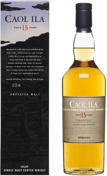 Caol Ila Whisky Unpeated 15 Jahre 2016 0,7l