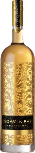 Scavi & Ray Grappa Oro 1,75 Liter in Lederbox