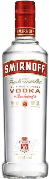 Smirnoff Red Label No. 21 1 Liter