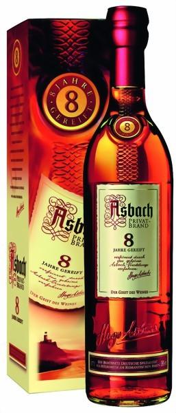 Asbach Privatbrand 8 Jahre gereift