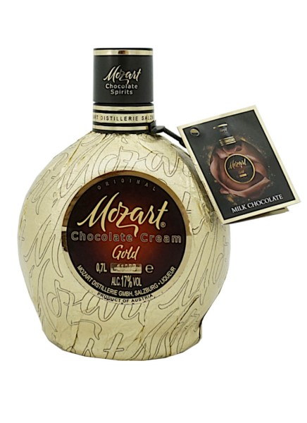 Mozart Chocolate Cream Liqueur Gold 0,5 Liter