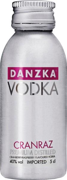 Danzka Vodka Cranraz Mini 5cl