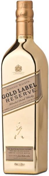 Johnnie Walker Gold Reserve - Golden Bottle