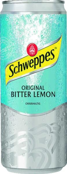 Schweppes Bitter Lemon 0,33 l Dose