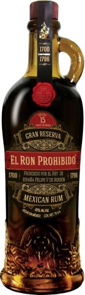 El Ron Prohibido 15 Jahre 0,7 l
