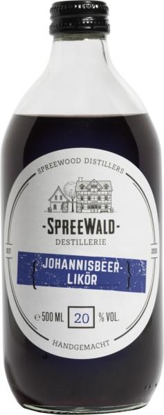 Spreewood Distillers Johannisbeer - Likör 0,5l