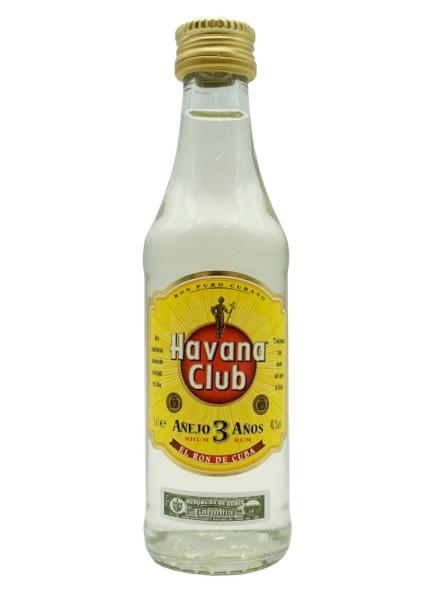 Havana Club 3 Jahre Mini 0,05 Liter