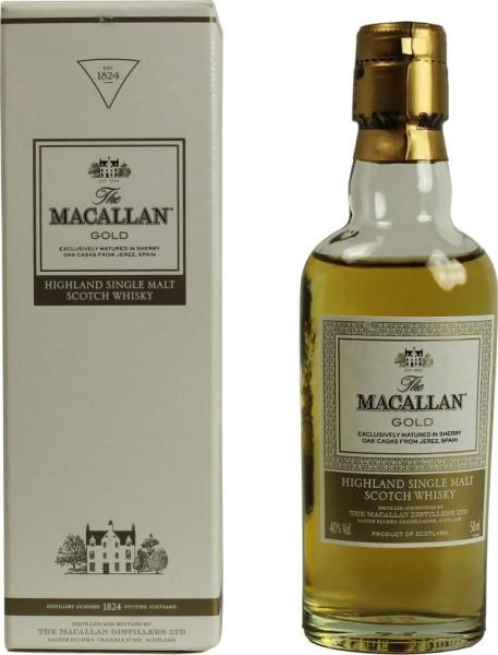 Macallan Whisky Gold Miniatur 5cl