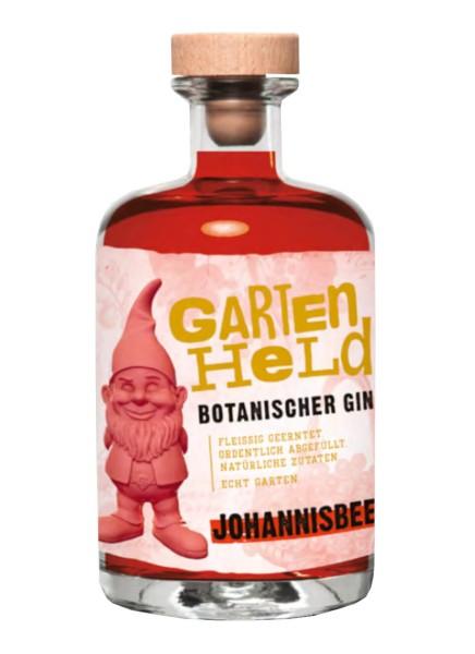 Gartenheld Johannisbeere Botanischer Gin 0,5 Liter