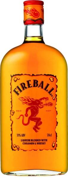 Fireball Whiskylikör mit Zimt