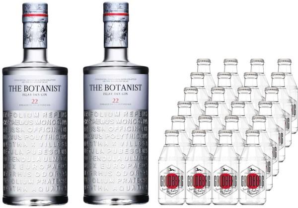 2x The Botanist Gin 0,7l mit 24x Goldberg yuzu 0,2l