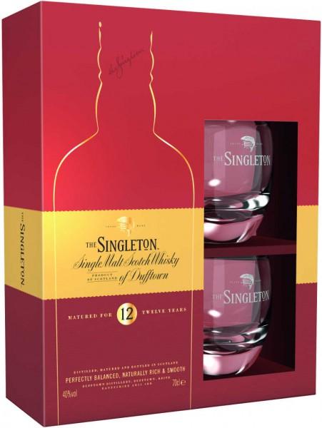 Singleton Geschenkset mit Glas