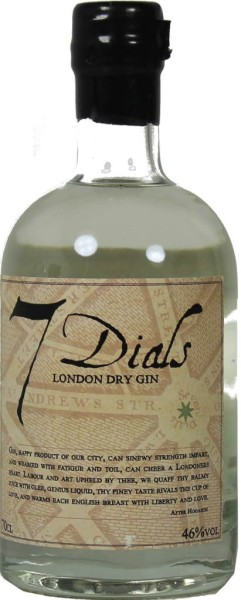 7 Dials London Dry Gin