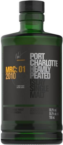 Bruichladdich Whisky Port Charlotte MRC01 2010 0,7l