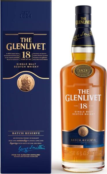 The Glenlivet Whisky 18 Jahre 0,7l