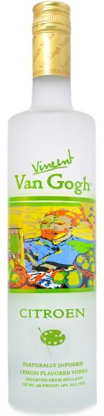 Vincent Van Gogh Vodka Citroen