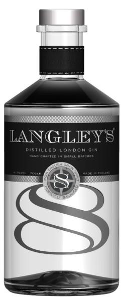 Langley's No. 8 Distilled London Gin