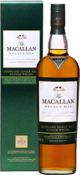The Macallan Selected Oak 1824