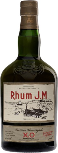 J.M Rum Agricole X.O. 0,7 l