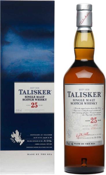 Talisker Skye Malt Whisky 25 Jahre