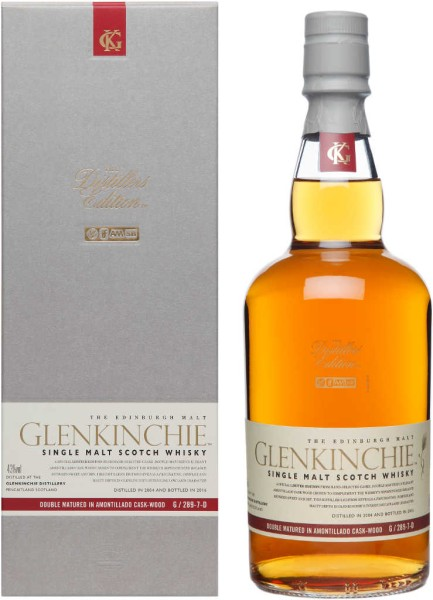 Glenkinchie Whisky Distillers Edition 2004/2016 0,7l