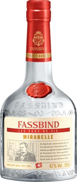 Fassbind Fine Eaux de Vie Mirabelle 0,5 Liter