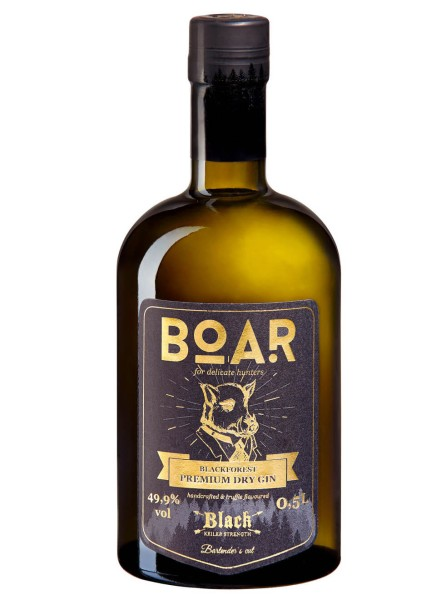 Boar Gin Black Edition 0,5 Liter