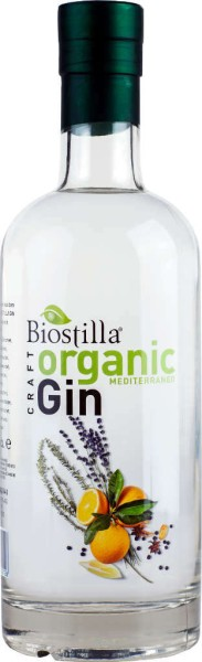 Biostilla Organic Gin Mediterraneo 0,7l