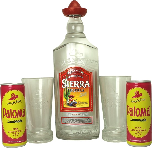 Paloma + Sierra Tequila Margarita Cocktail Set