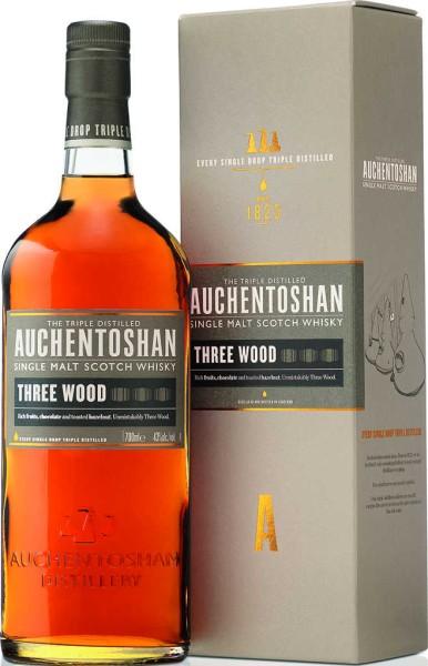 Auchentoshan Three Wood  in Geschenkpackung