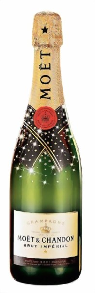 Moët & Chandon Champagner Brut Imperial 0,75 l Swarovski Edition