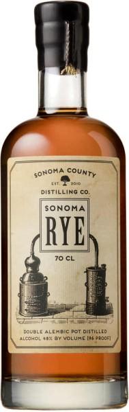 Sonoma Rye Whiskey 0,7l