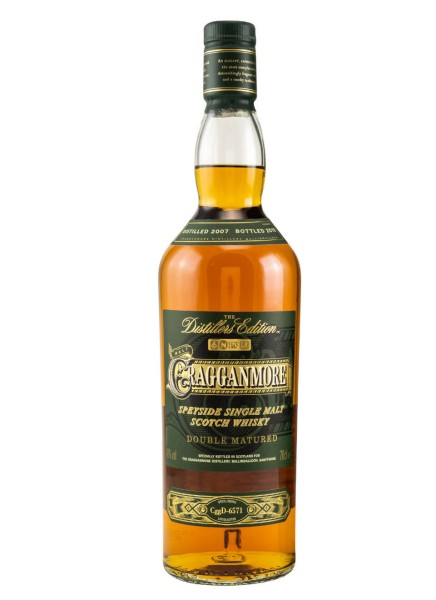 Cragganmore Whisky Distillers Edition 2007/2019 0,7 Liter