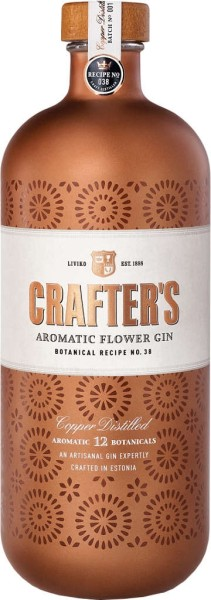 Crafters Gin Aromatic Flower 0,7l