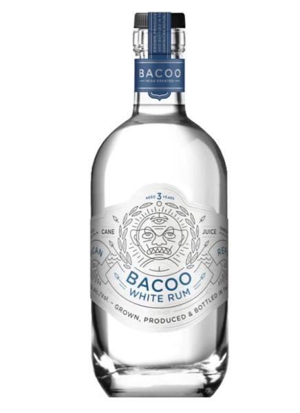 Bacoo White Rum 3 Jahre 0,7 Liter