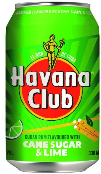 Havana Club Cane Sugar & Lime 0,33 l