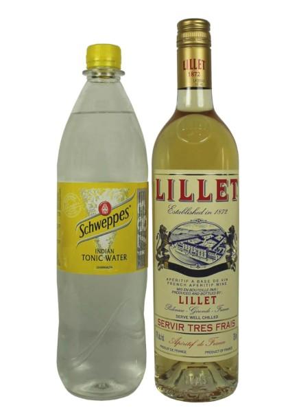 Lillet Blanc mit Schweppes Tonic