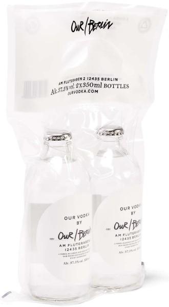 Our Berlin Vodka Vakkum-Duo-Pack 2 x 0,35l