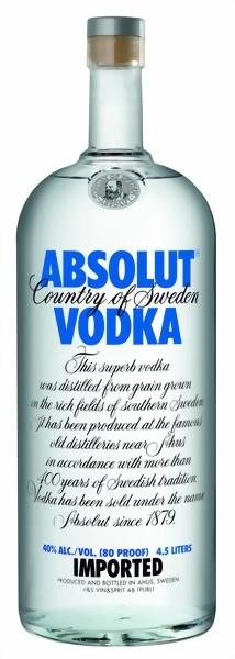 Absolut Vodka 4,5 Liter