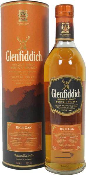 Glenfiddich Rich Oak 14 yrs in Tin Box