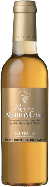 Rothschild Mouton Cadet Reserve Sauternes AOC 0,375 l