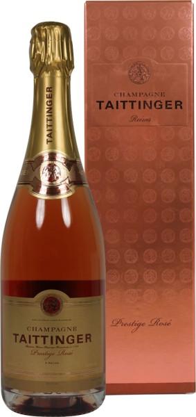 Taittinger Brut Prestige Rose 0,75 l in Geschenkpackung