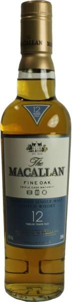 The Macallan Whisky Fine Oak 12 Jahre 0,35l